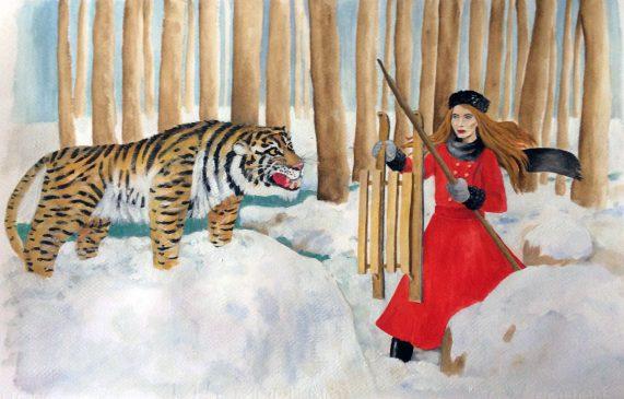pitture - tigre