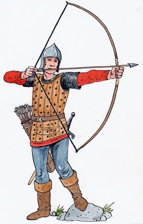illustrazioni - arciere