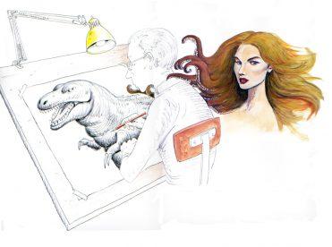 illustrazioni - il disegnatore di donne