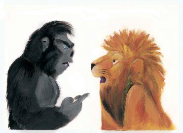 illustrazioni - io sono il re