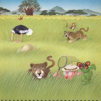 illustrazioni - savana