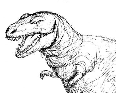 illustrazioni - tirannosauro