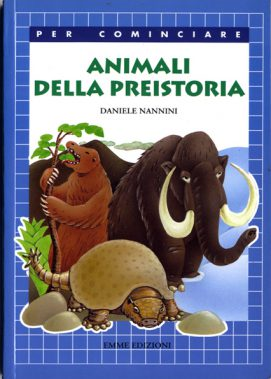 libri - animali della preistoria