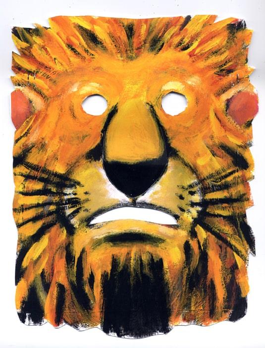 maschera - leone
