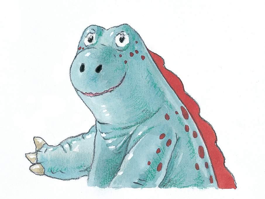 illustrazioni - piccolo grande dinosauro