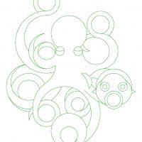 illustrazioni - polpo traccia