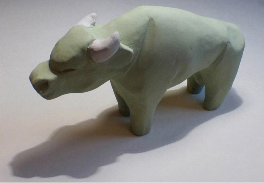 ceramiche - bufalo verde