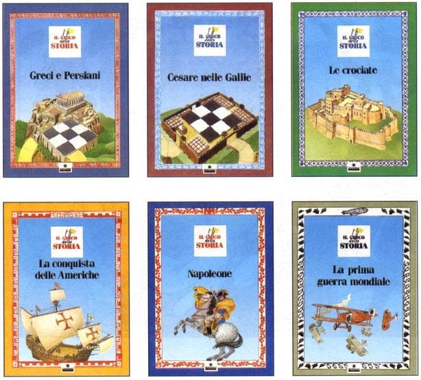 libri gioco - la storia