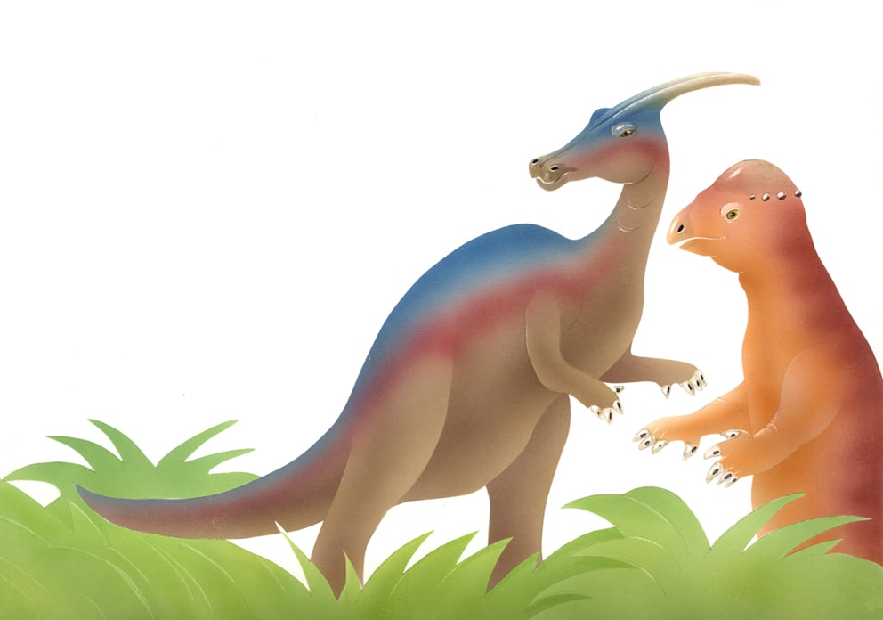 illustrazioni - dinosauri