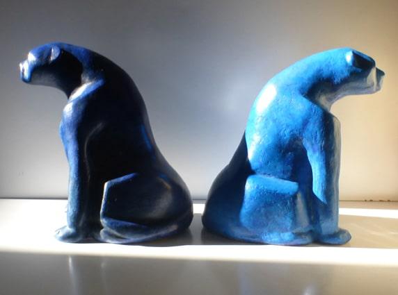 ceramics - panthers