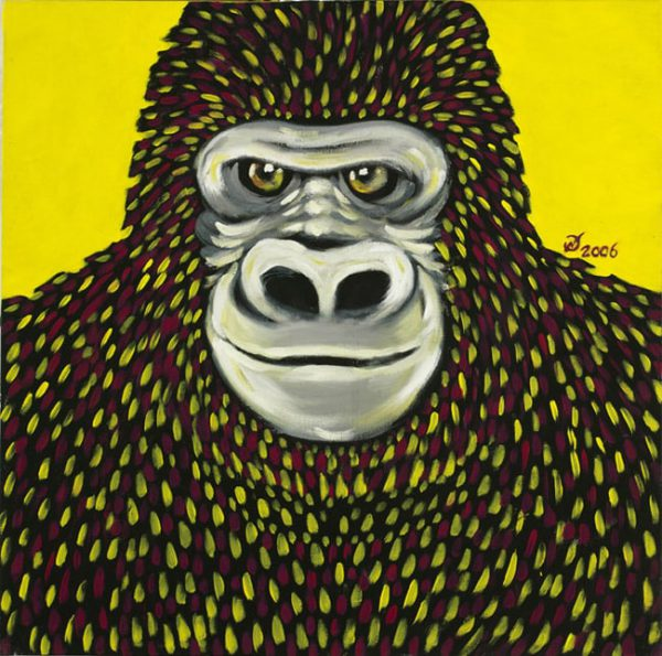 pitture - gorilla