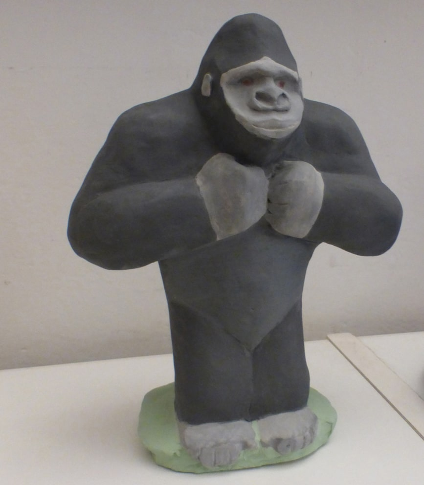 sculture - gorilla