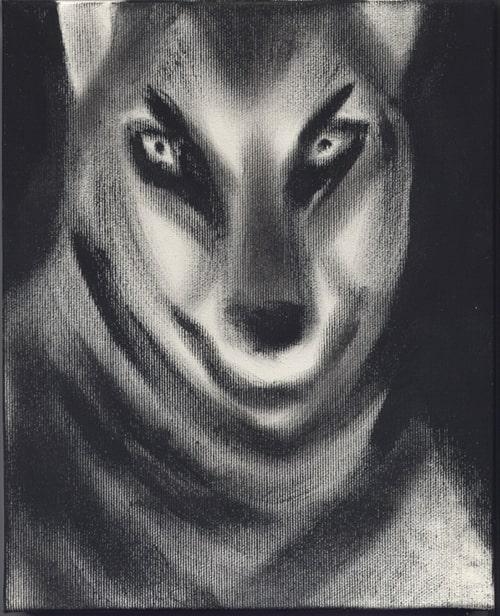pitture - lupo