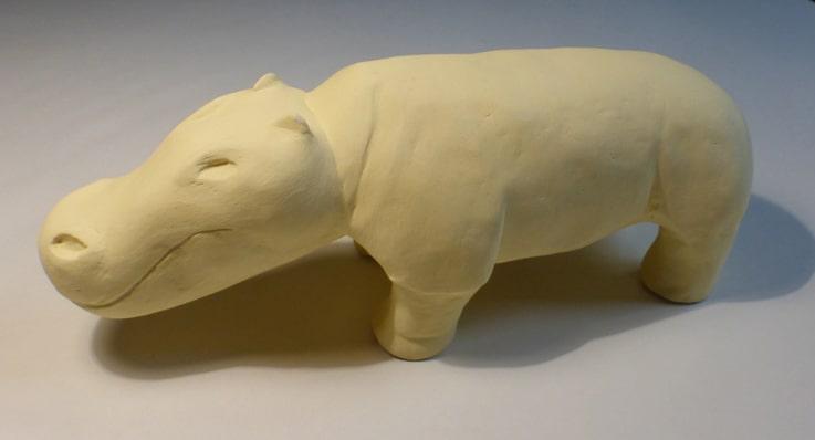 ceramiche - ippopotamo candito