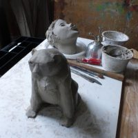 sculture - lavorare argilla