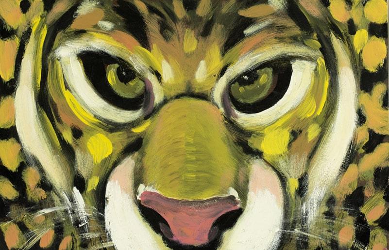 pitture - leopardo occhi