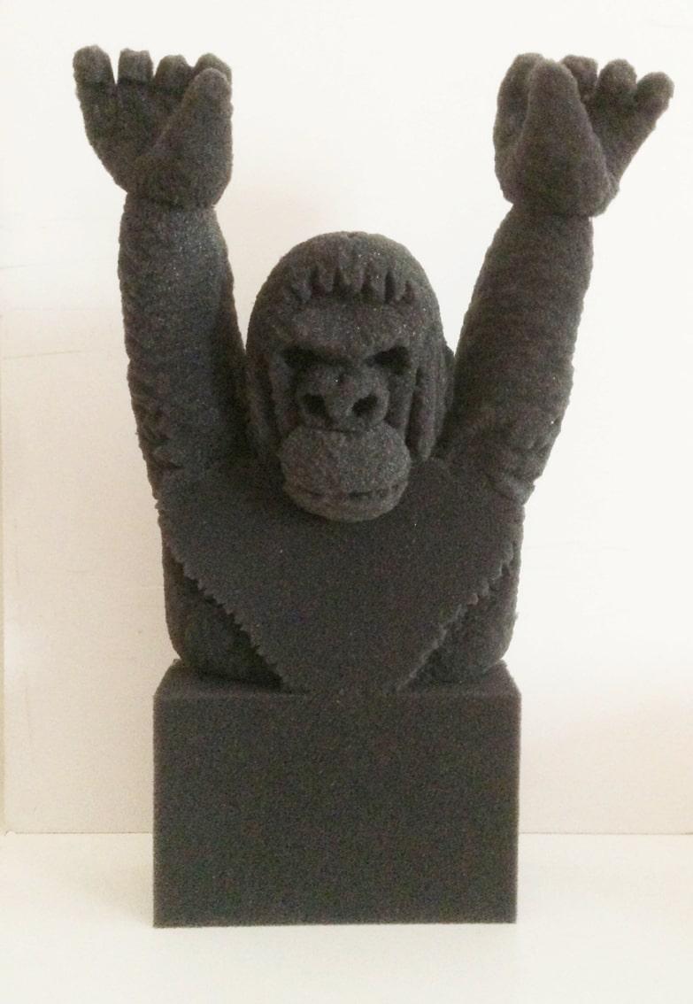sculture - orango in lavorazione