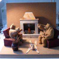 sculture - relax in famiglia
