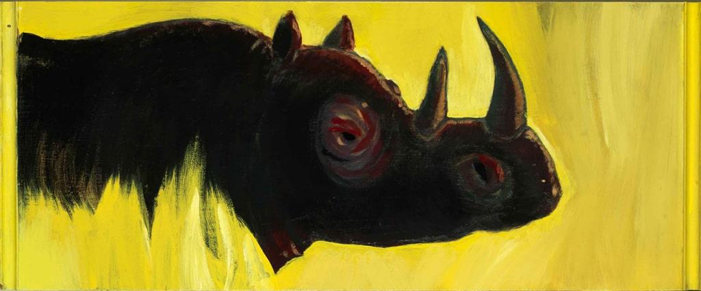 pitture - rinoceronte