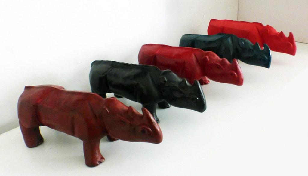 ceramiche - rinoceronti