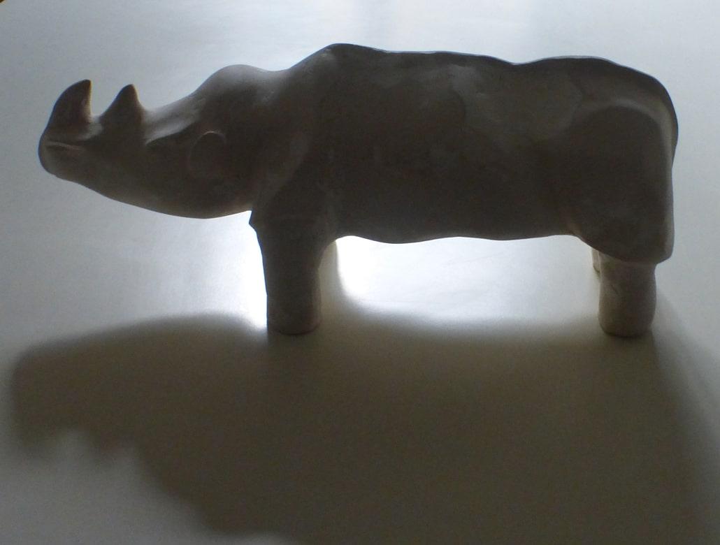 ceramiche - rinoceronte