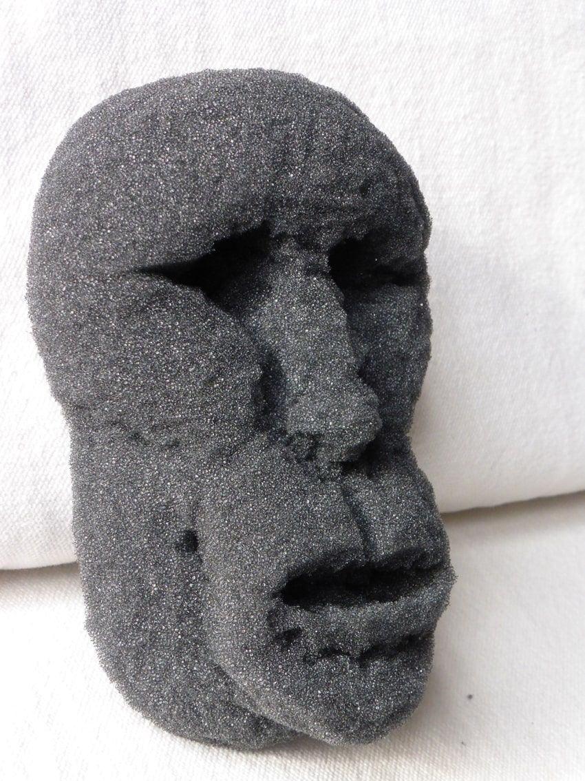 sculture - totem volto