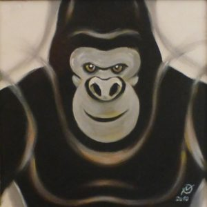 gorilla in the wind